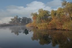 Ростислав Швец Лодка в тумане